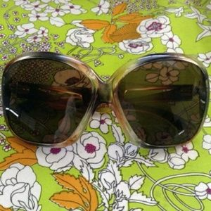 Vintage 70s French faux tortoise shell sunglasses